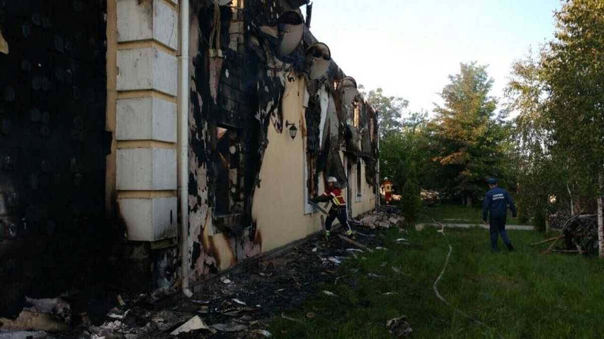 There were 35 people in the temporary housing / Photo from mns.gov.ua