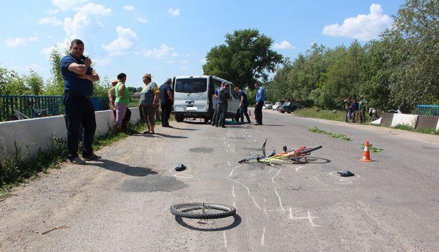 Велосипедист потрапив під колеса автомобіля