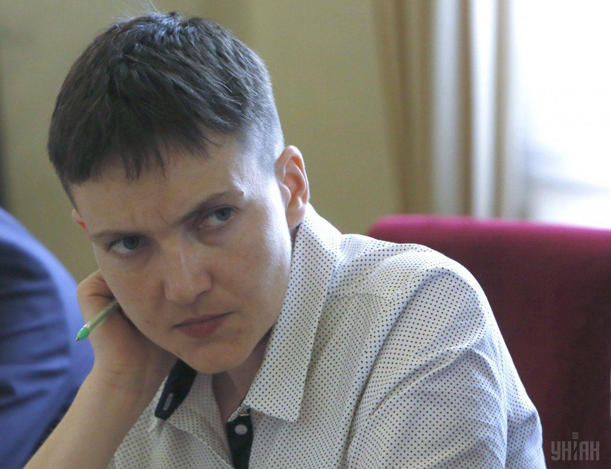 Луценко попросить у Ради дозволу на арешт Савченко / фото УНІАН