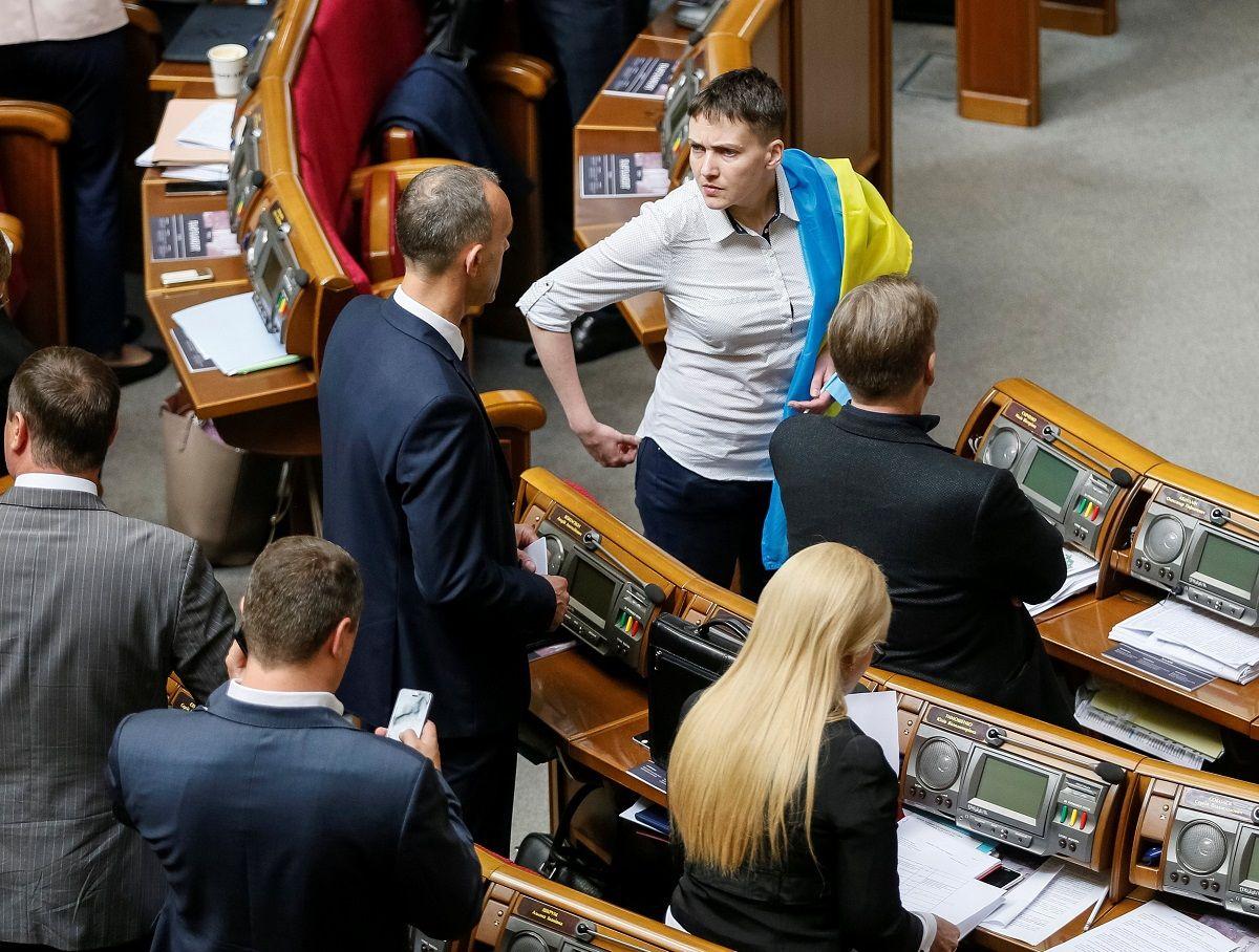 Савченко заявила, что знала о слежке за ней в течение года / фото УНИАН
