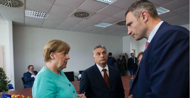 Кличко: Ми говорили про необхідність пришвидшення ефективних реформ в Україні / Фото kievcity.gov.ua