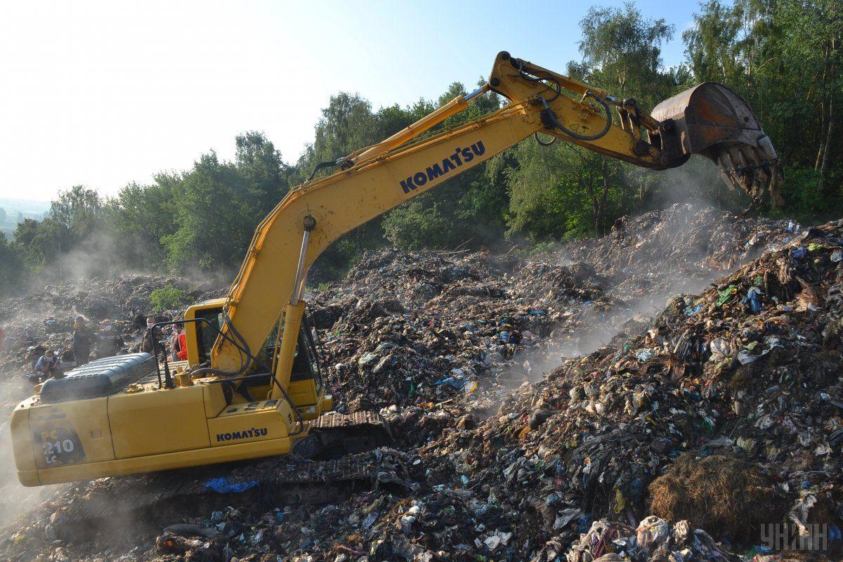 Французская Egis завершила разработку ТЭО рекультивации Грибовицкой свалки и строительства мусороперерабатывающего завода во Львове / фото УНИАН