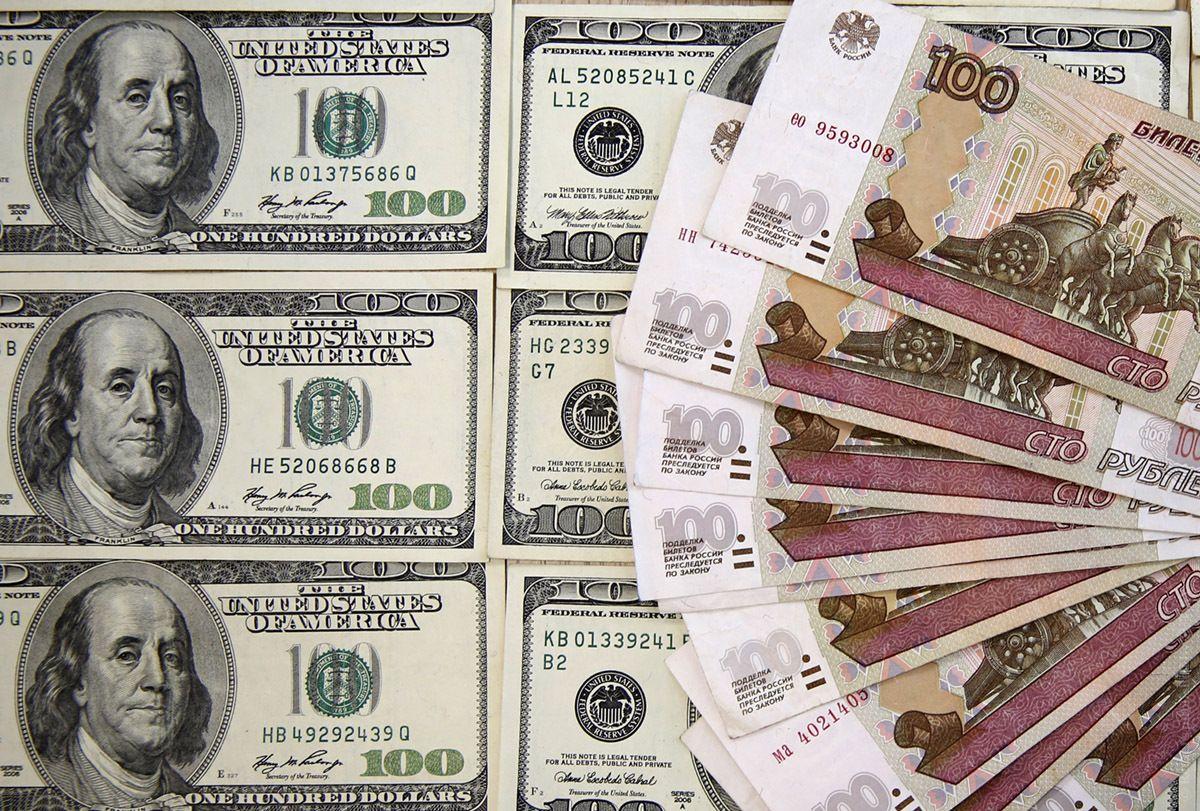 Российский рубль продолжает снижаться вслед за нефтью / tyt.by