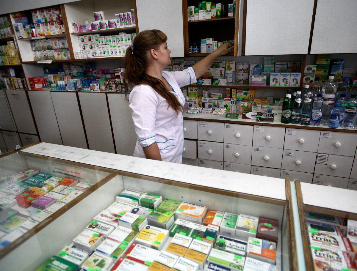 """В аптеках """"АНЦ"""" зникла можливість розрахуватися карткою/ фото УНІАН"""