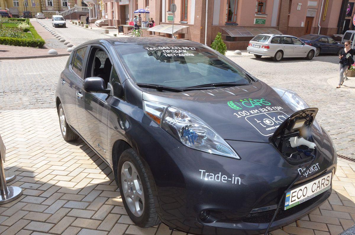 За электромобилями может быть будущее / фото Владислав Швец