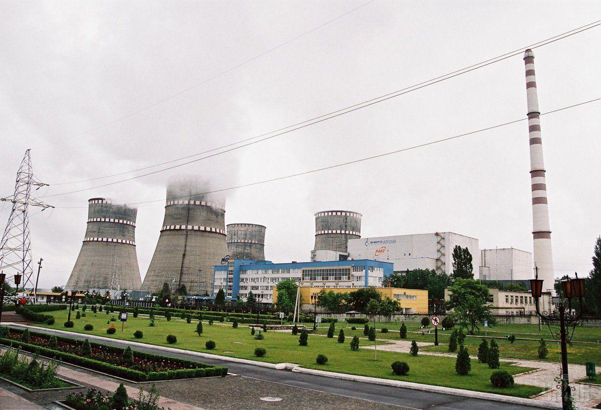 Ровенская АЭС отключила третий энергоблок— сработала защита