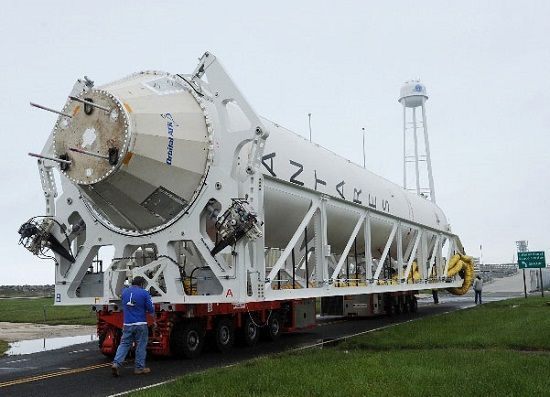 Ukraine's space enterprises and Northrop Grumman have been cooperating for several years / Photo from AIN.ua
