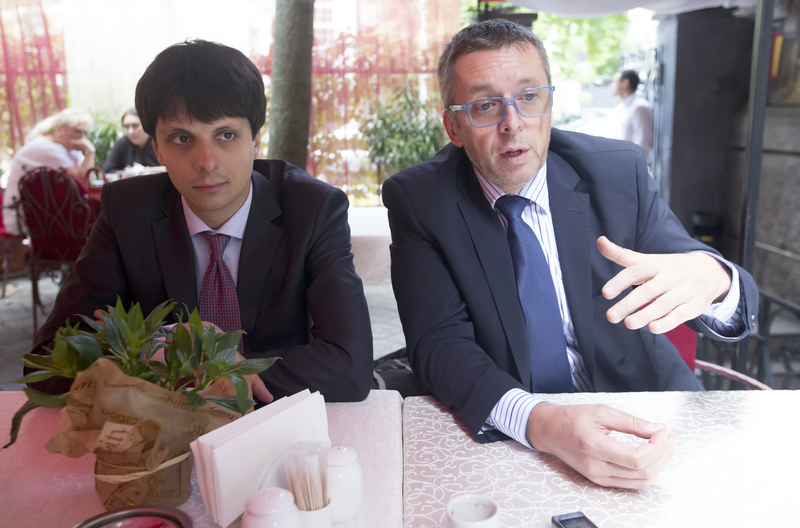 Pavlo Kukhta and Ivan Miklos / Photo from UNIAN