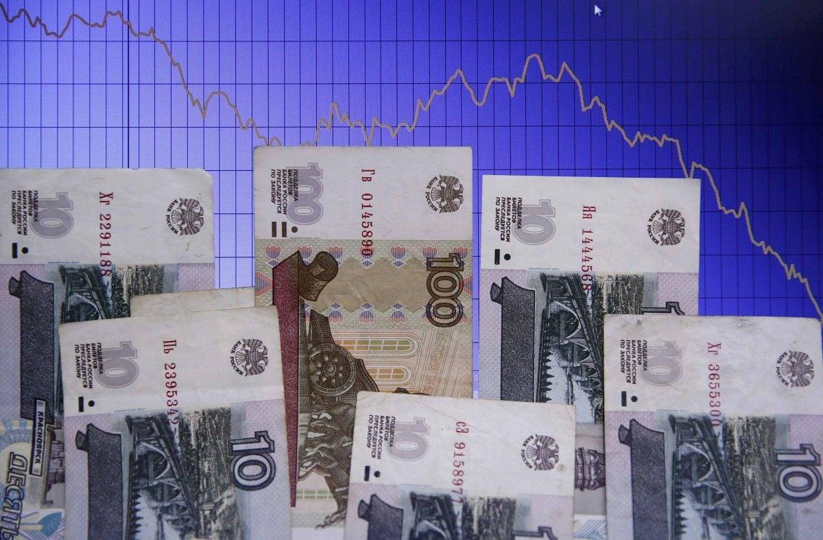 З Росії вивели 700 мільярдів рублів / REUTERS