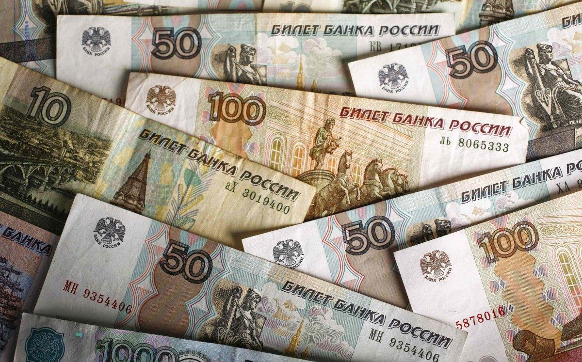 Российские рубли / REUTERS