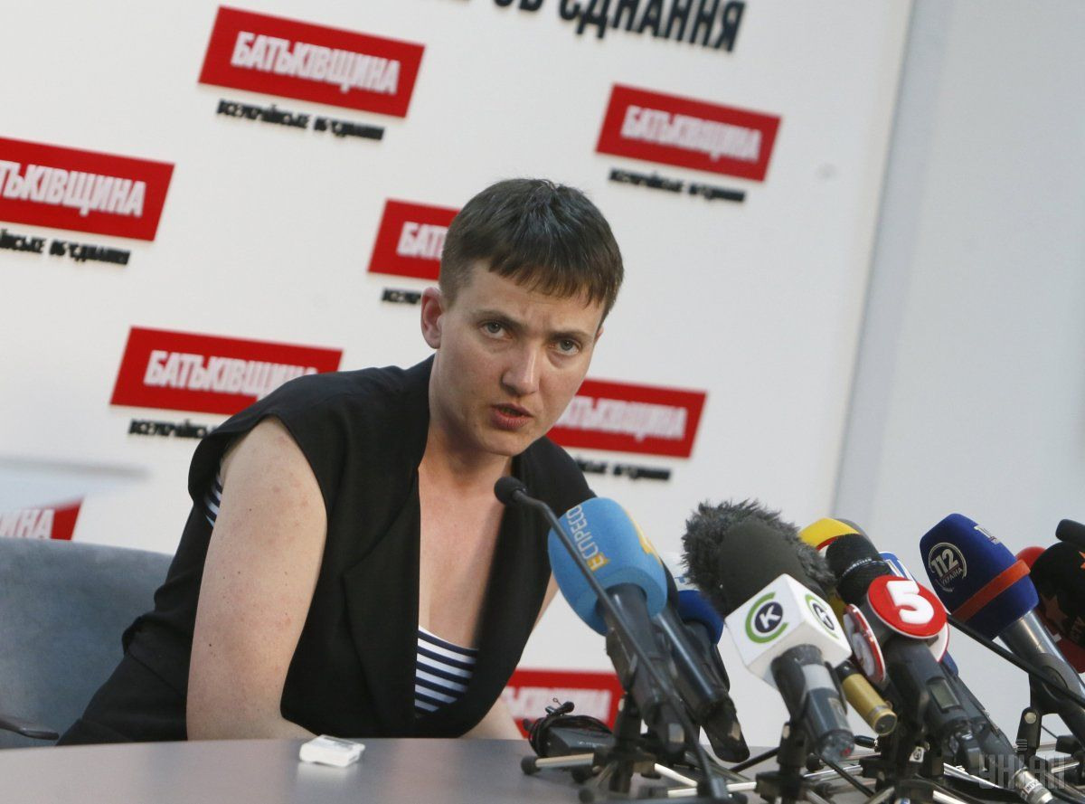 Savchenko: We need to feed our army, otherwise we will feed someone else's / Photo from UNIAN