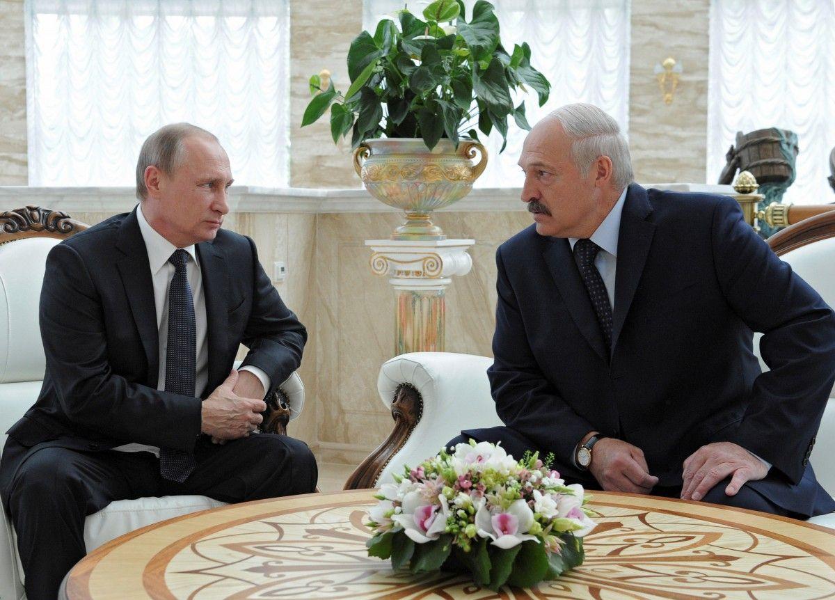 Владимир Путин и Александр Лукашенко / REUTERS