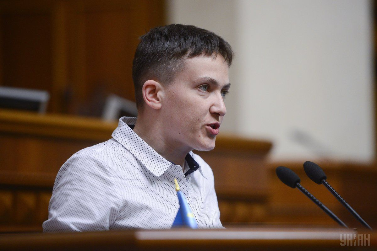 Savchenko supports Ukraine's integration into EU and NATO / Photo from UNIAN