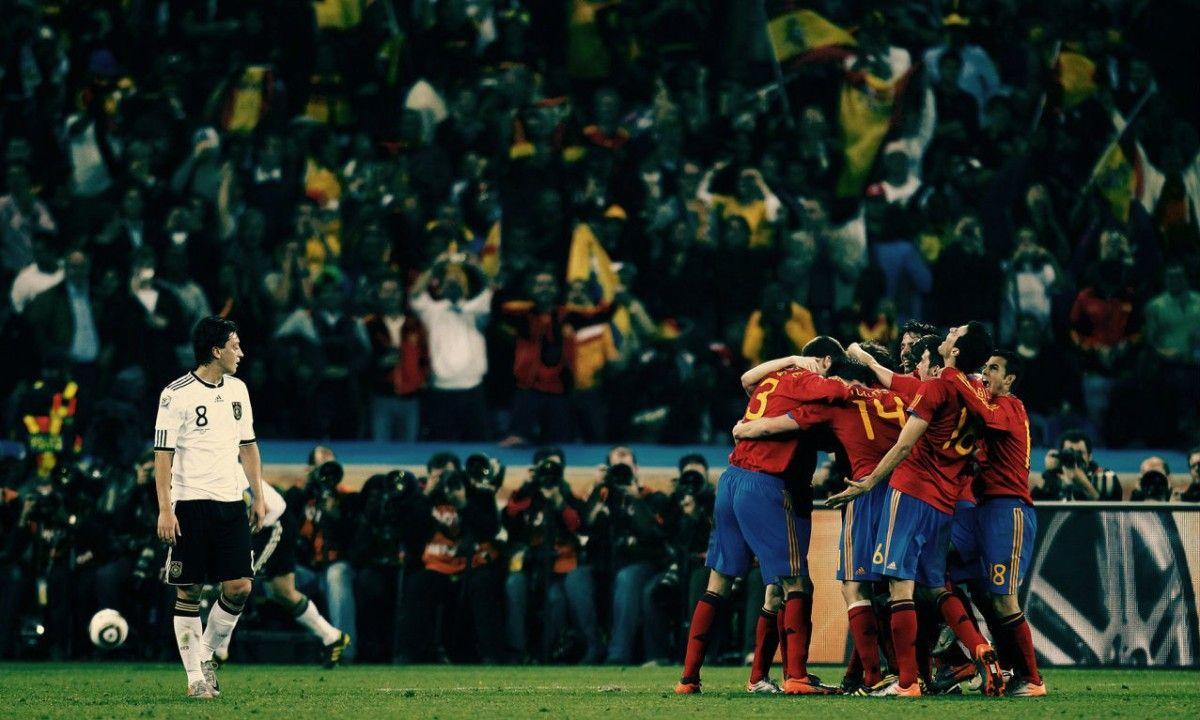 Испания и Германия играли в финале Евро-2008 / fifawallpapers.com