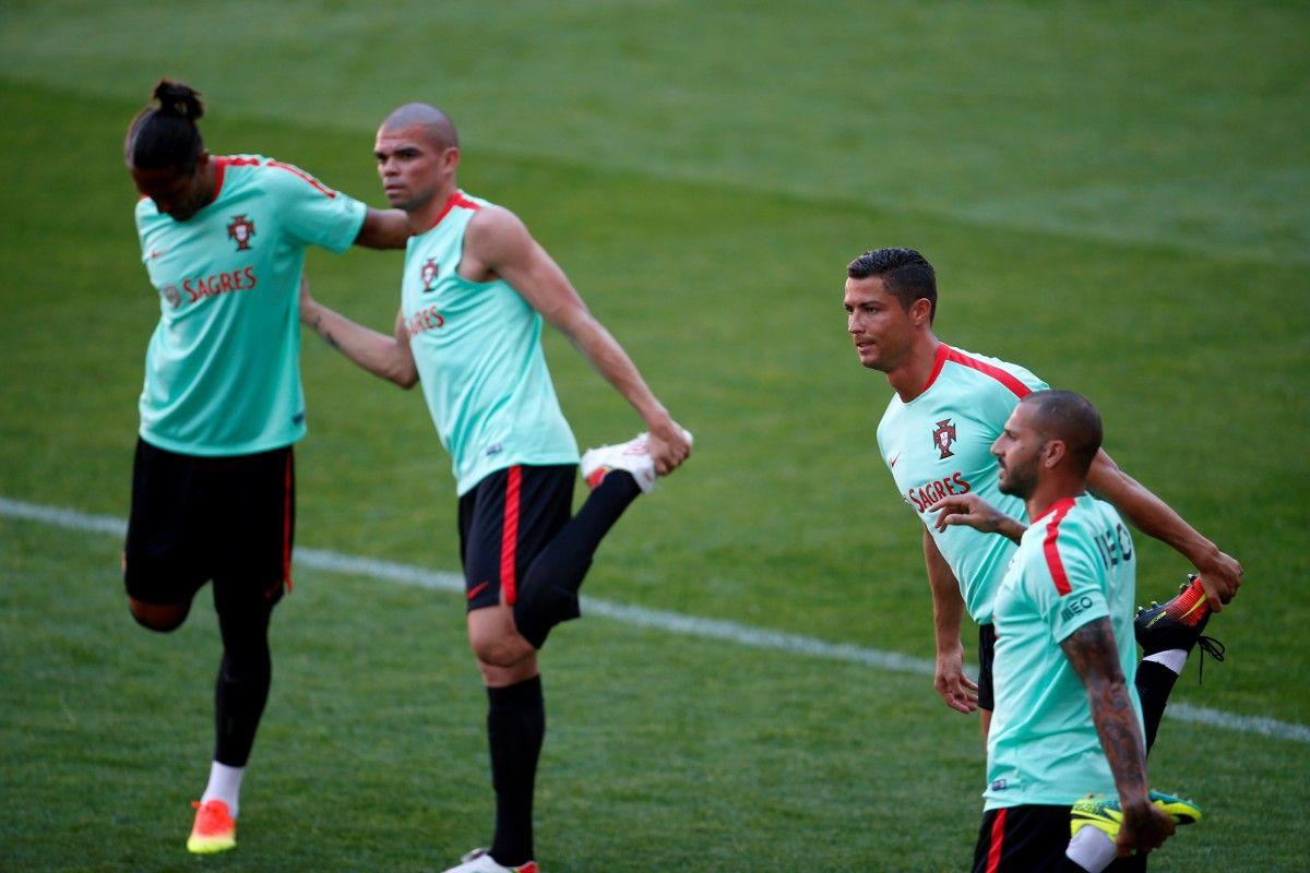 Сборная Португалии продолжает подготовку к ЧМ-2018 / Reuters
