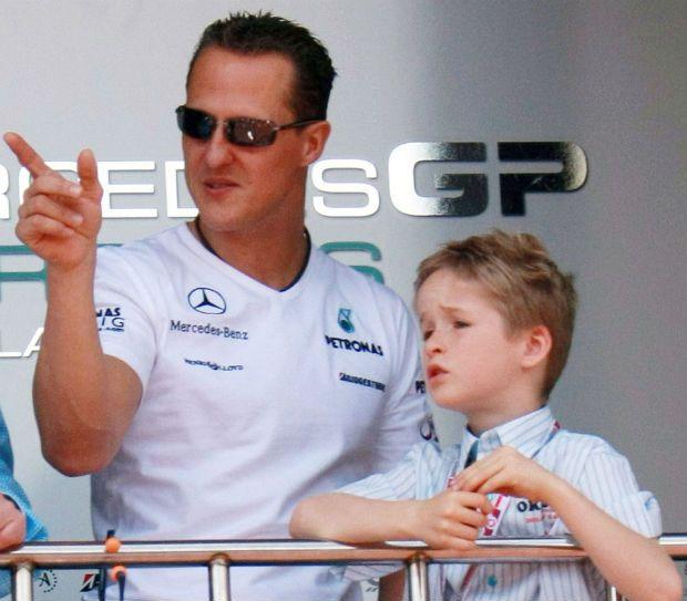 Отец и сын Шумахеры на Гран-при Монако семь лет назад / xpogurephotos.com