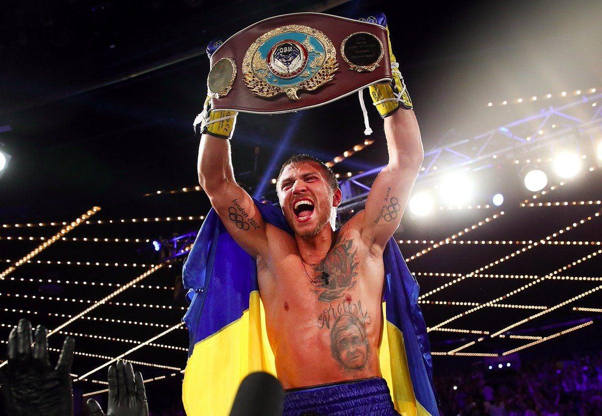 Ломаченко защитил пояс чемпиона по версии WBO / Top Rank