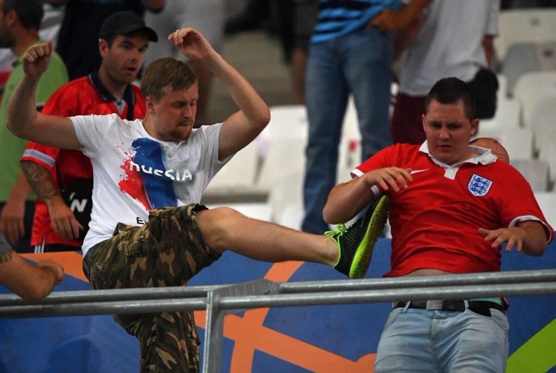 Россиян накажут за драку на трибунах / @Ammar_3232
