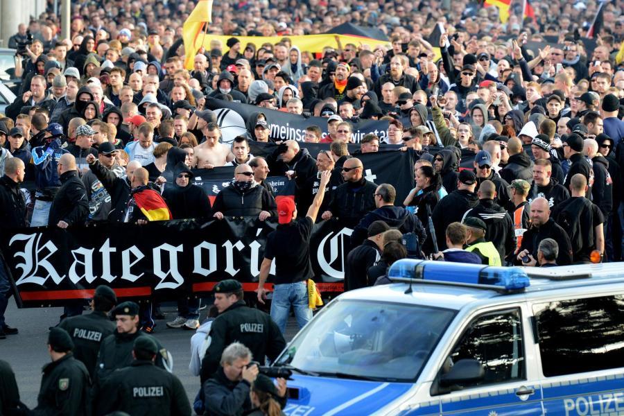 Группа немецких фанатов напала на украинцев / Die Welt