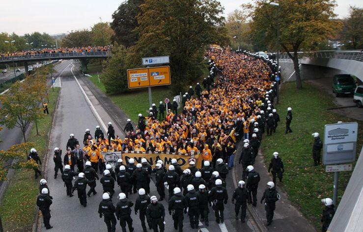 На украинцев напали ультрас из Дрездена / ultras-dynamo.de