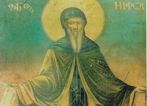 Преподобный Нифонт Кавсоколивит