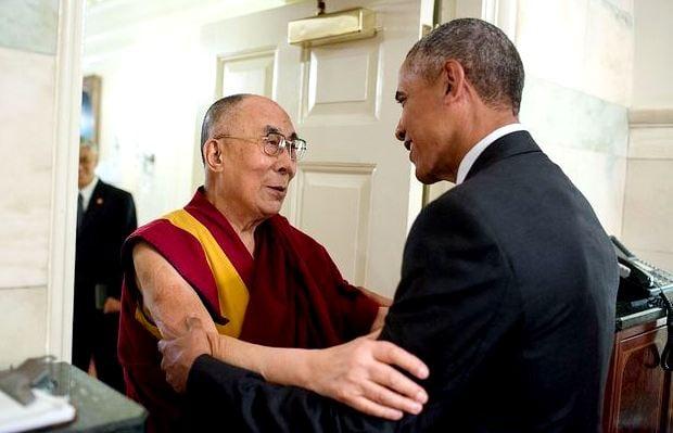 Встреча президента США с Далай-ламой в Белом доме, 15 июня 2016. The White House.
