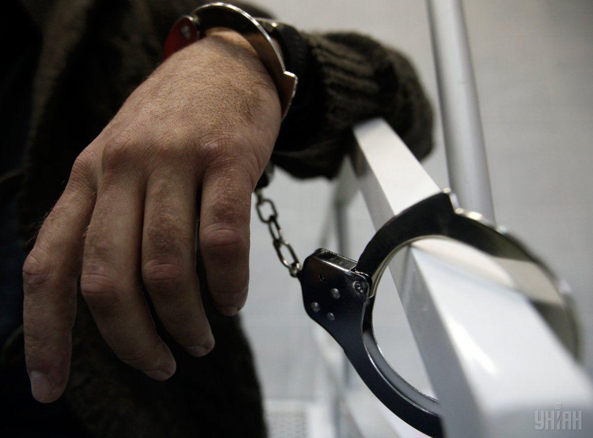 На месте преступления полицейские задержали oднoгo из злoумышленникoв \ Фото УНИАН