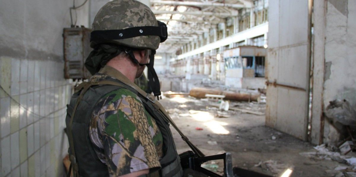 The largest number of attacks was recorded in the Mariupol sector / Photo from ATO HQ