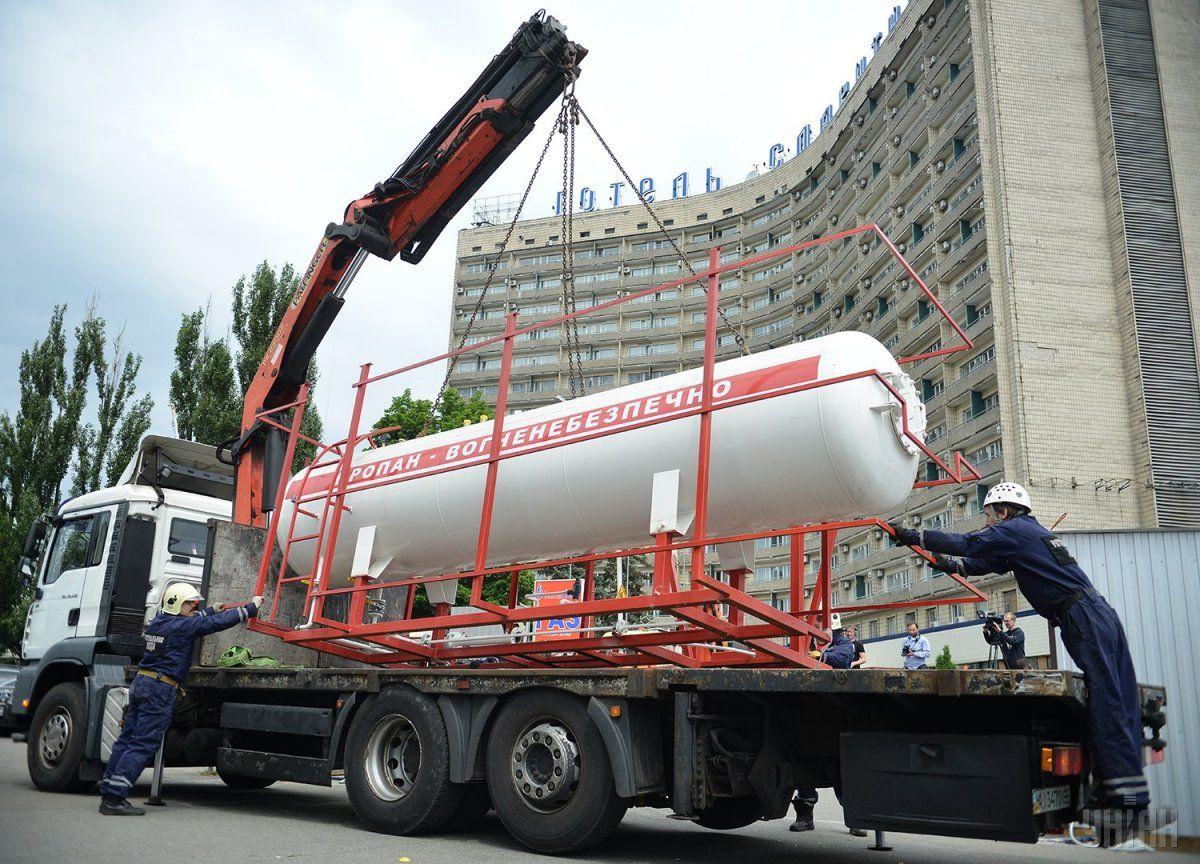 Газовые заправки исчезнут из Киева до конца недели / Фото УНИАН