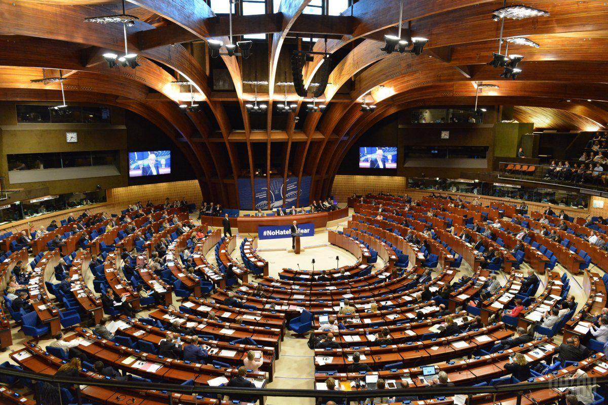 Парламентская ассамблея Совета Европы на заседании 9 октября не нашла голосов для изменения санкционным правил ради РФ / фото УНИАН
