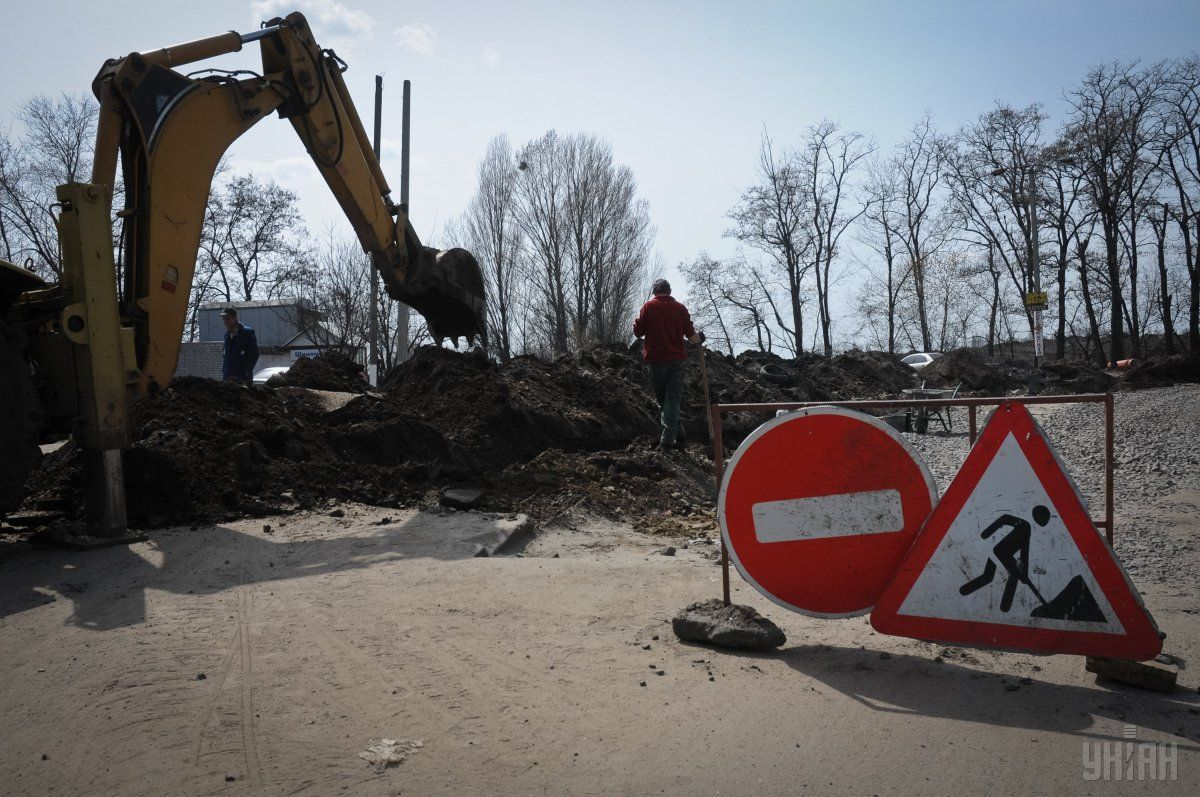 Дорога буде частково закрита через ремонт / Фото УНІАН