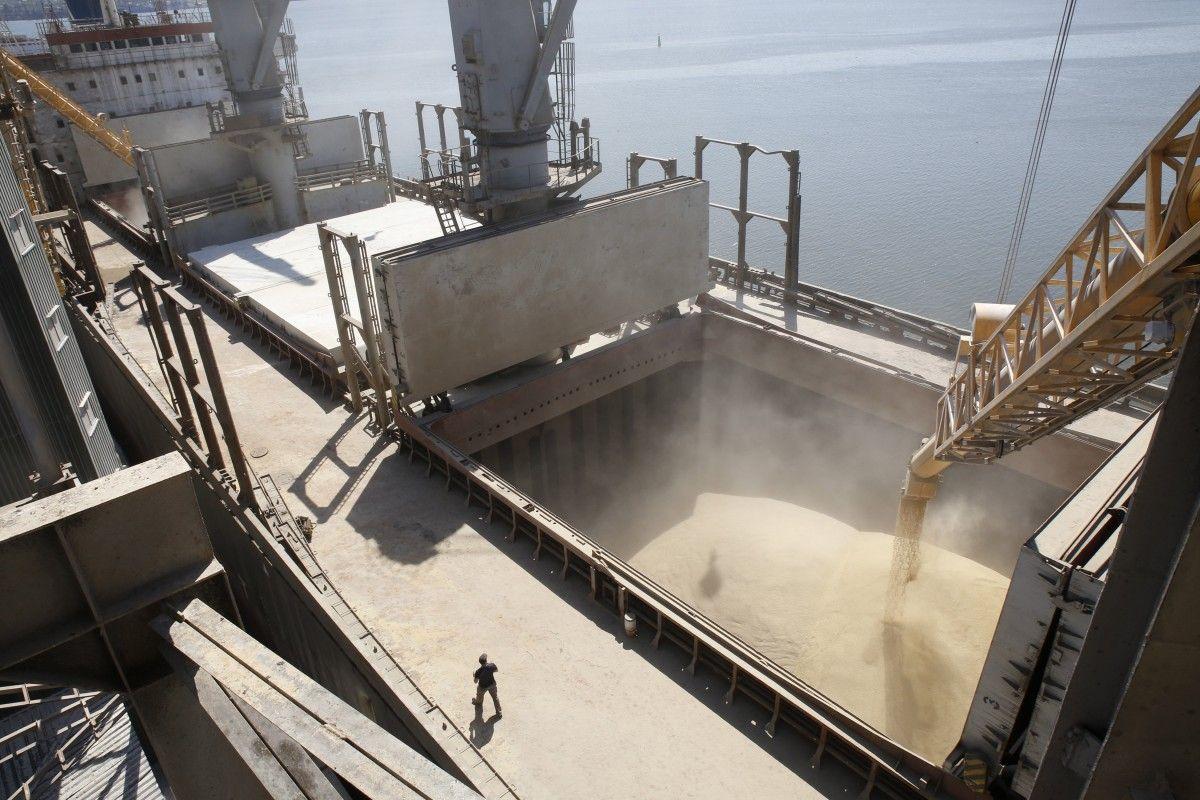 Украина в январе сократила экспорт зерновых вдвое / REUTERS