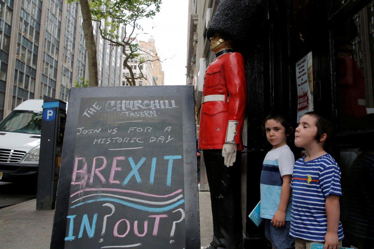 51,9% жителей Великобритании высказались на референдуме за выход из ЕС / REUTERS