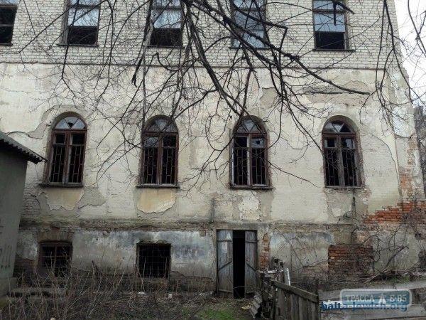 Строительство синагоги в Балте началось в 1903 году.