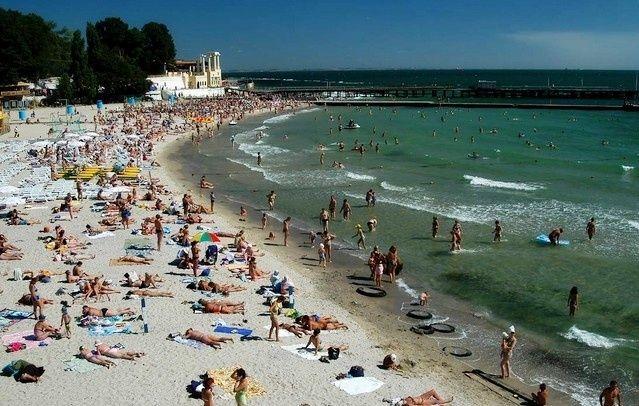 одесса пляж / most-odessa.info