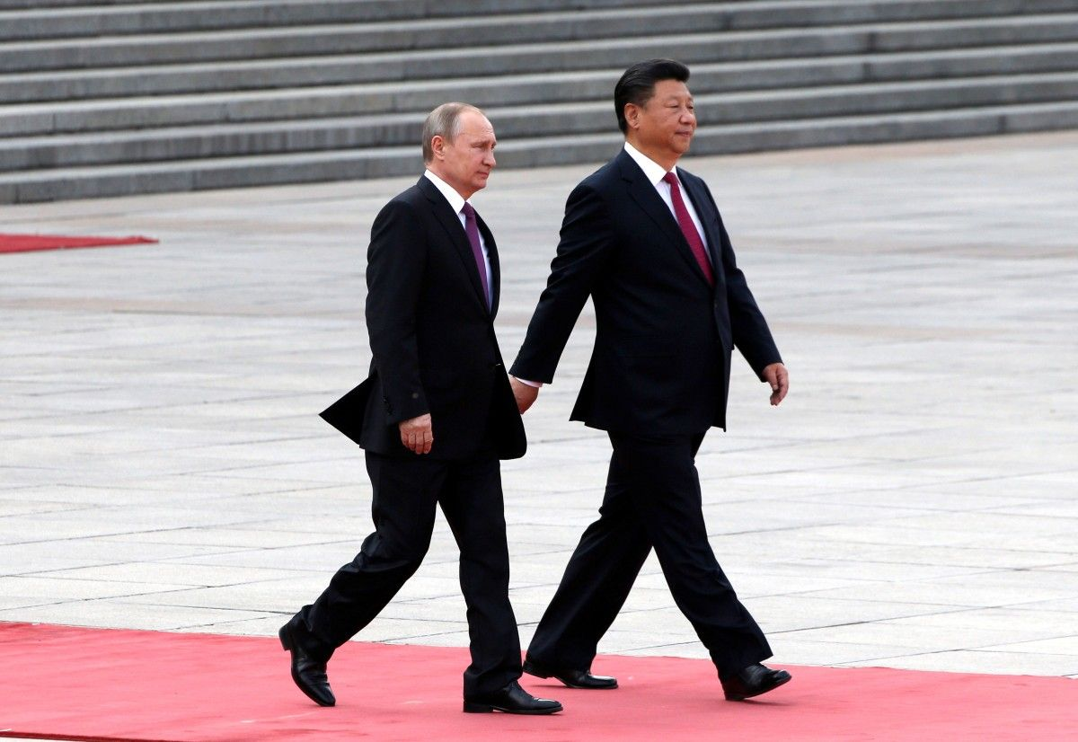 Владимир Путин и Си Цзиньпин / REUTERS