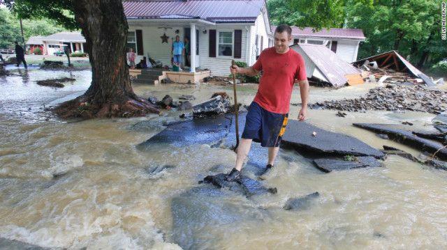 23 июня в Западной Вирджинии выпала четверть годовой нормы осадков