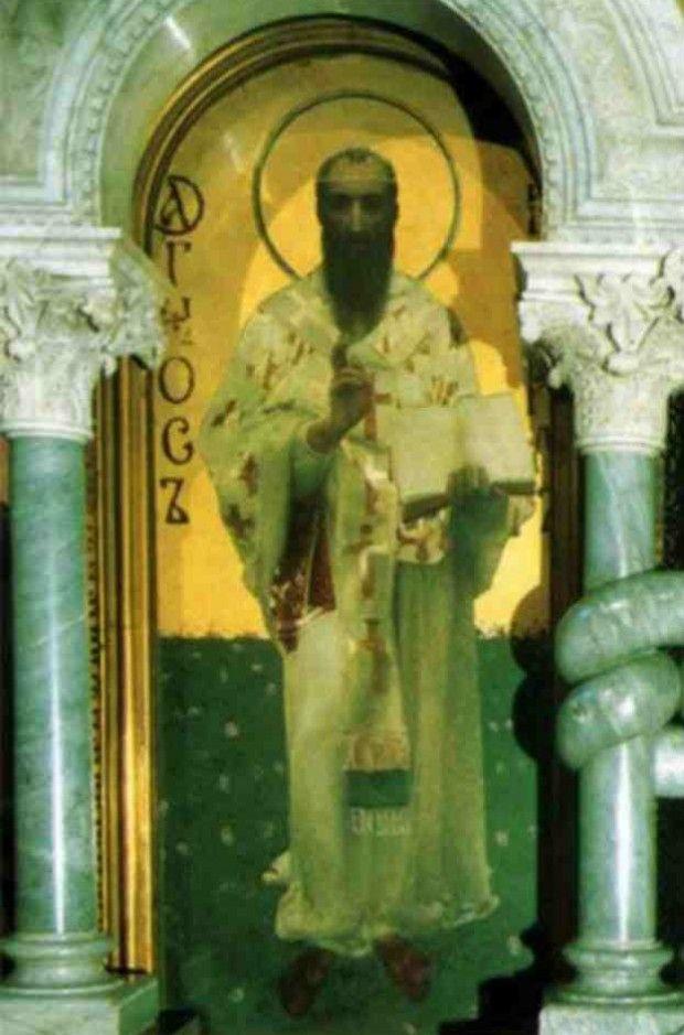 Храмовая икона свт. Кирилла Александрийского