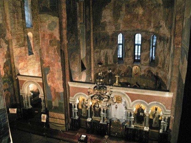 Фрески в Кирилловской церкви