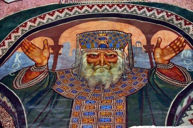Фреска Михаила Врубеля