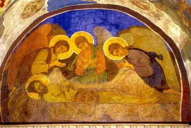 Фреска работы Михаила Врубеля