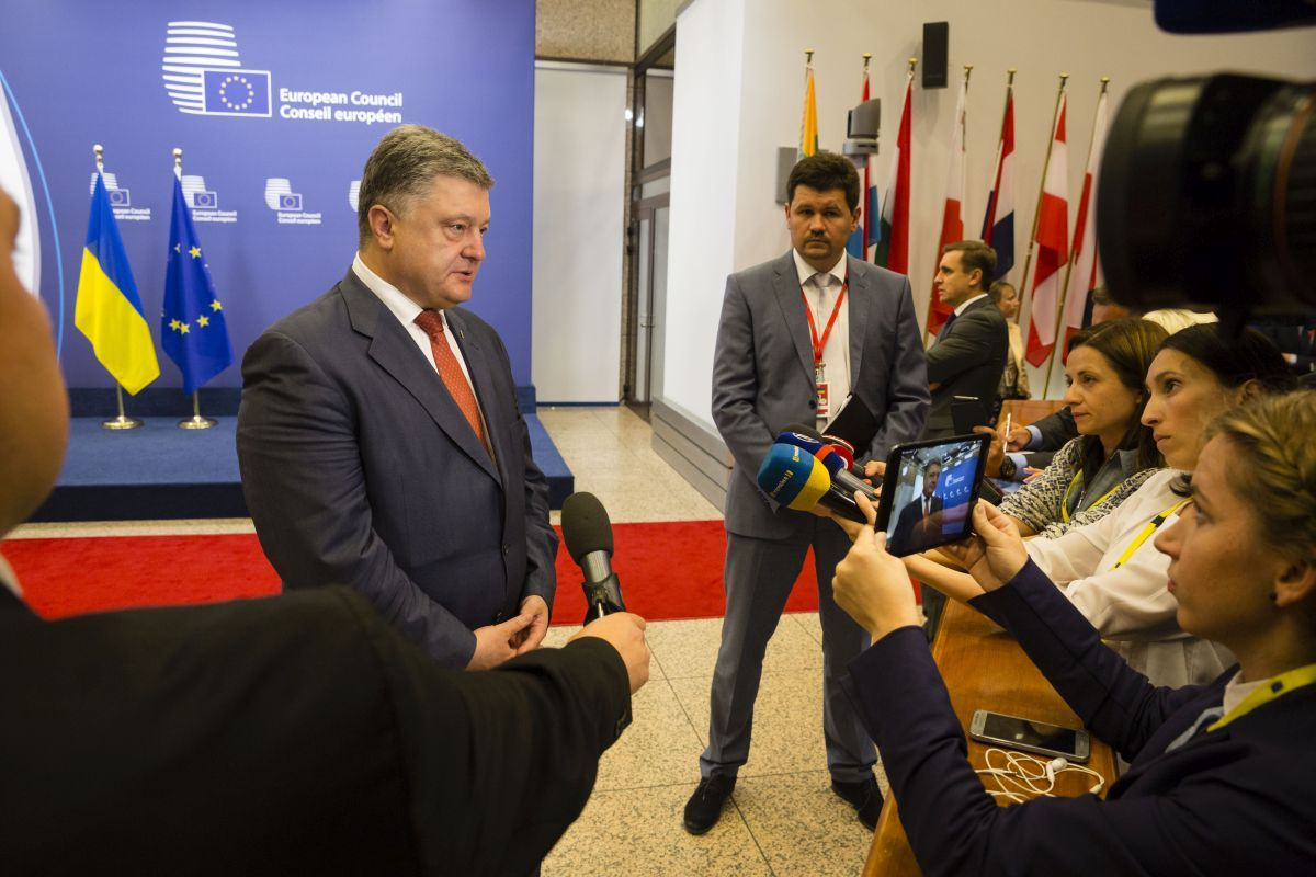 Poroshenko expects positive messages on sanctions against Russia / president.gov.ua