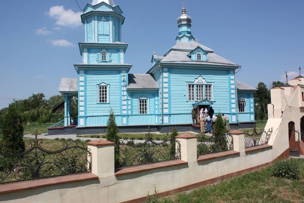 Храм у с. Дуліби Гощанського району