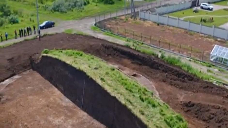 Археологи раскопали крупный скифский курган / Скриншот / objectiv.tv