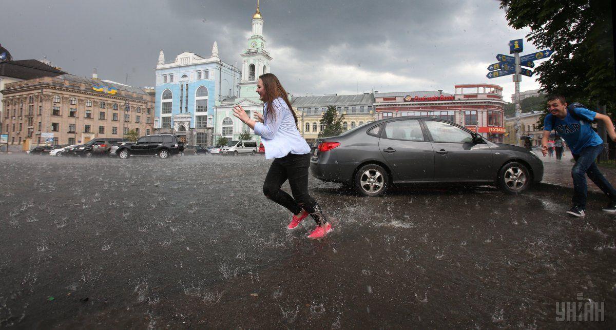 Найближчий тиждень в Україні буде дощовою / УНІАН