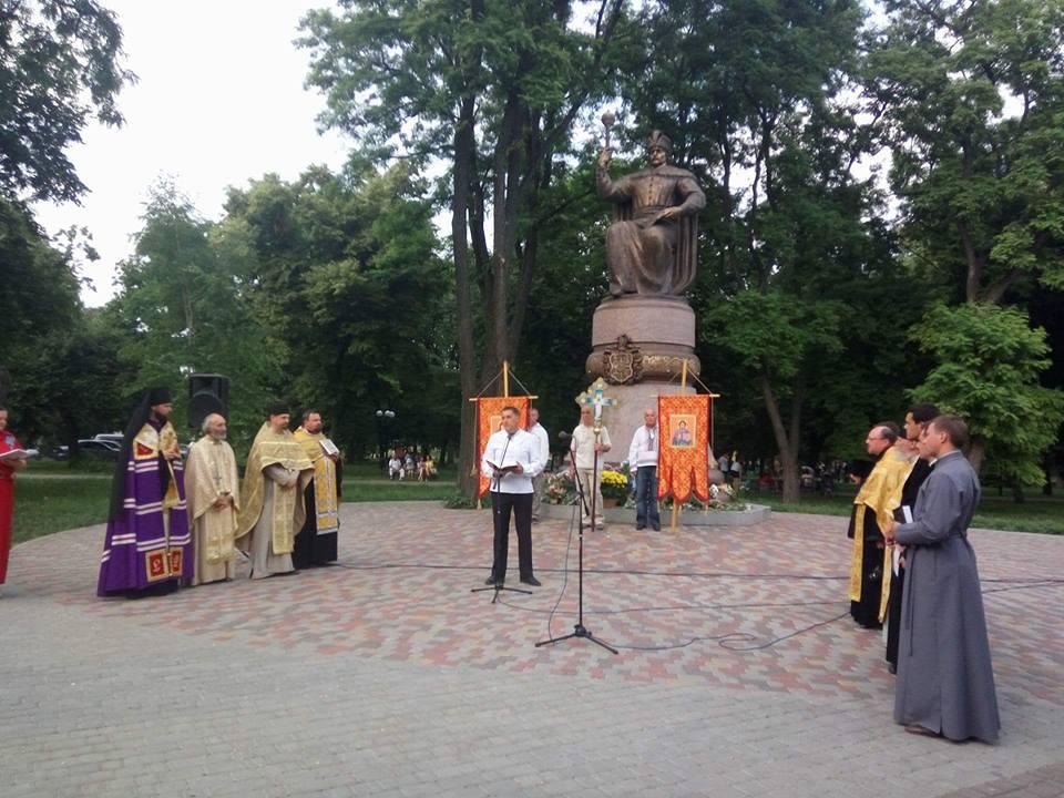 Межконфессиональный молебен посвященный Дню Конституции