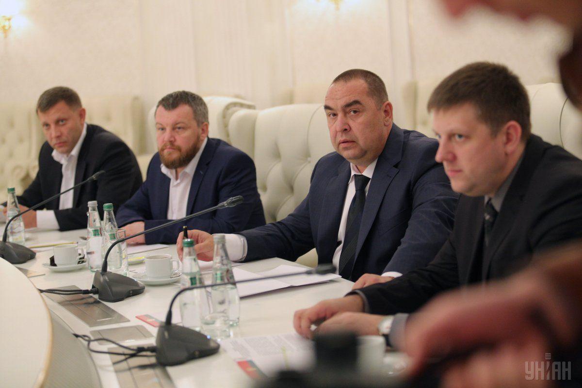 В Кремле могут сменить Захарченко и Плотницкого / фото УНИАН