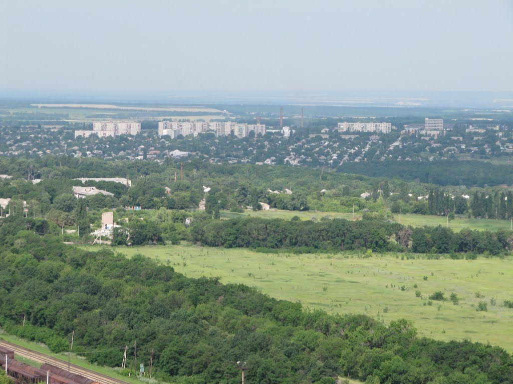 Околиці Попасної знову під вогнем / panoramio.com/user/4951514