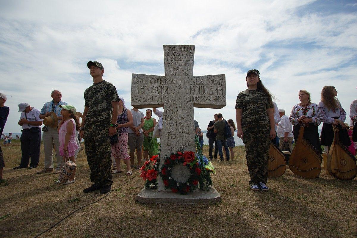 На історичному місці козацької слави відбулися урочистості, історична реконструкція та громадські гуляння з приводу свята