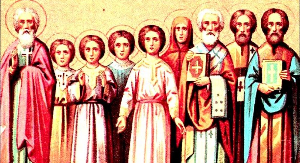 Картинки по запросу МУЧЕНИКИ ЛУКИЛЛИАН, КЛАВДИЙ, ИПАТИЙ, ПАВЕЛ